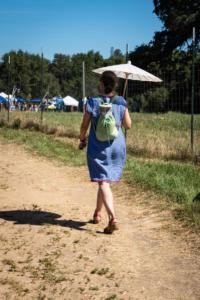 Woman walking with parasol wakamatsu allan 4754